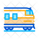 Suburban Electric Train Icon
