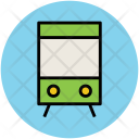 Subway Train Tram Icon