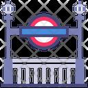 Subway Tube Lonod Icon