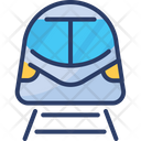 Subway Train Transportation Icon
