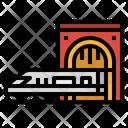 Subway Train Railway Icon