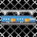 Subway Train Public Icon