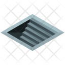 Subway Stairs Icon