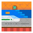 Subway Train Metro Icon