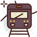 Subway Tram Train Icon