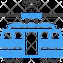 Subway Tram Tramway Icon