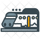 Subway Train Bullet Icon