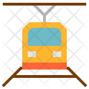 Subway Train Transportation Icon