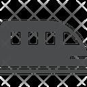 Monorail Railway Ground Railway Icon