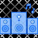 Subwoofer Speaker Music Icon