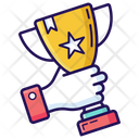Success Trophy Award Icon