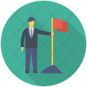 Success Goal Achievement Icon