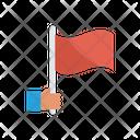 Success Reward Flag Icon