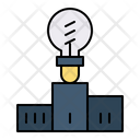 Success Light Bulb Champion Icon