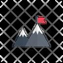 Success Mountain Goal Icon