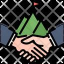 Handshake Team Teamwork Icon