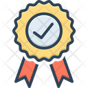 Success Quality Certificate Icon