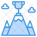 Goal On Top Success Icon