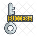 Success Key Business Icon