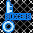 Success Key Icon