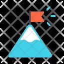 Success Milestone Climb Icon