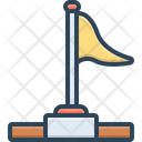 Success Flag Icon