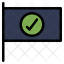Success Flag Icon