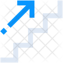 Career Growth Ladder Icon
