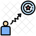 Success Path Obstacle Problem Icon