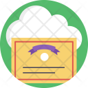 Cloud Certification Deed Icon