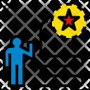 Success Way Decisive Icon