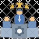Successful Winner Competition Icon
