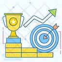Successful Business Icon