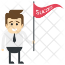Successful Businessman Icon