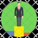 Successful Businessman Business Icon