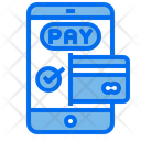 Payment Smartphone Card Icon