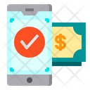 Pay Mobile Technology Icon