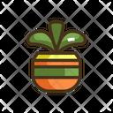 Msucculent Succulent Plant Plant Pot Icon