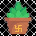 Succulent Pot Icon