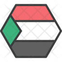 Sudan African Country Icon