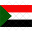 Flag Country Sudan Icon