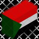 Flag Country Sudan Icon
