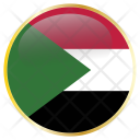 Sudan Country Flag Icon