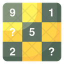 Sudoku Crossword Puzzle Puzzle Game Icon