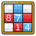 Sudoku Crossword Puzzle Puzzle Game Icon