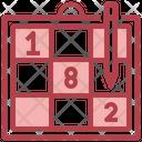 Sudoku Leisure Numbers Icon