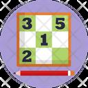 Board Games Sudoku Game Icon