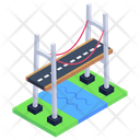 Suez Canal Bridge Icon
