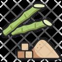 Sugar Cane Sugarcane Icon