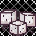 Sugar Sweet Sugar Cube Icon